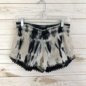 Patrons Of Peace Cute Tye Dye Boho Cotton Shorts